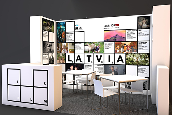 latvian stand berlinale 2018
