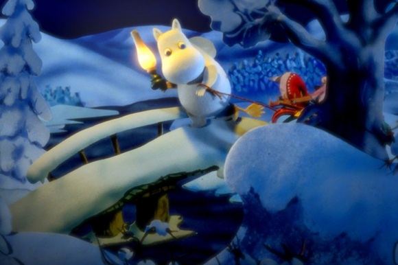 Moomins And The Winter Wonderland by Ira Carpelan and Jakub Wronski