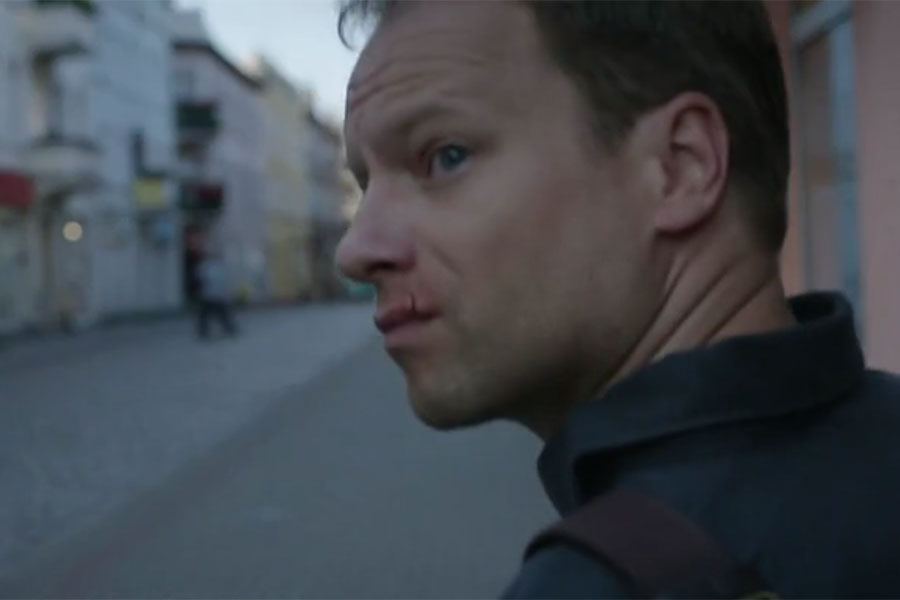 Maciej Stuhr in Teacher / Belfer