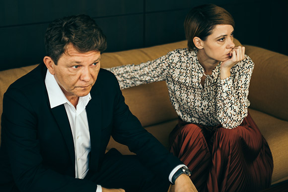 Dragan Bjelogrlic and Dubravka Kovjanic in Tycoon by Miroslav Terzić