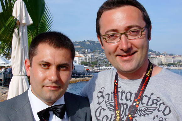 Ioan Antoci and Tudor Giurgiu in Cannes 2009