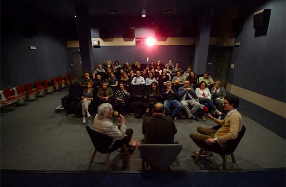 Solaris screening room