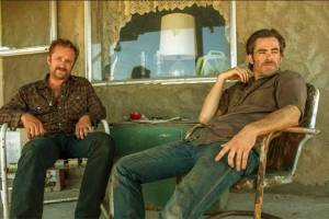 Ben Foster and Chris Pine in Hell or High Water by David Mackenzie (2016)