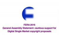 FERA 2016 General Assembly Statement