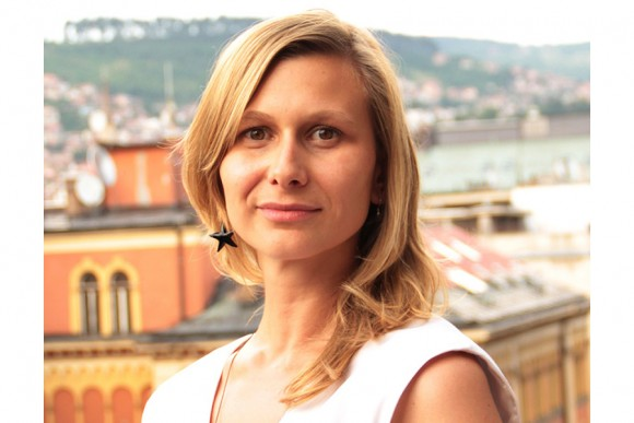 Elma Tataragić, the General Secretary of the Bosnian Filmmakers Association