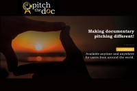 Pitch the Doc – soft launch of new Internet platform for documentary professionals.