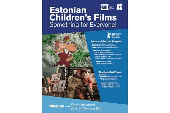 FNE at Berlinale 2019: Estonian Film in Berlin