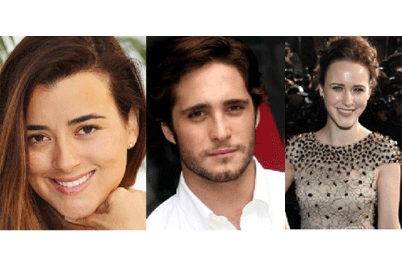 The Dovekeepers cast: Cote de Pablo, Diego Boneta and Rachel Brosnahan