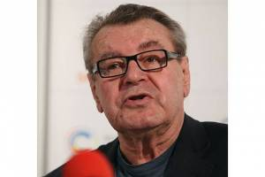 Miloš Forman at the 44th Karlovy Vary International Film Festival 2009, Czech Republic
