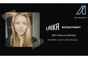 ANIMARKT 2018 – LAIKA will recruit animators and costume makers