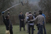 Last Visa by Quing Hua shooting in the Czech Republic