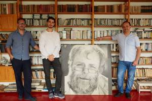 Pintilie Fund first grantees: Cristi Iftime, Anghel Damian and Bogdan Mureșanu