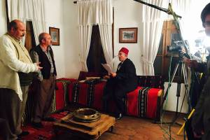 Shooting of the TV series Stories from Strumica in November 2016