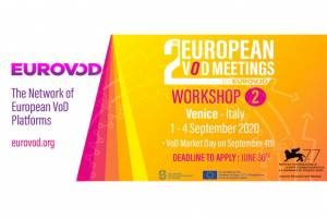 EUROPEAN VOD MEETINGS & VOD MARKET DAY EUROPEAN VOD PROFESSIONALS BACK TO VENICE FORM 1 TO 4 SEPTEMBER