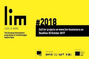 LIM - Less is More 2018: Call for projects