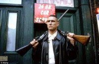 "Vinnie Jones in ""Lock, stock and two smoking barrels"""