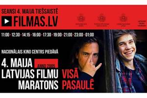 Latvian Film Marathon Viewed in 63 Countries