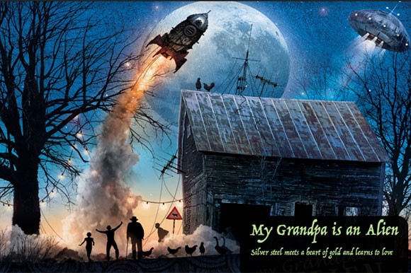 My Grandpa is an Alien by Drazen Zarkovic and Marina Andree Skop