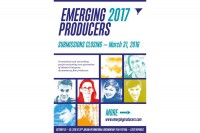 SUBMISSIONS FOR EMERGING PRODUCERS 2017 CLOSING SOON