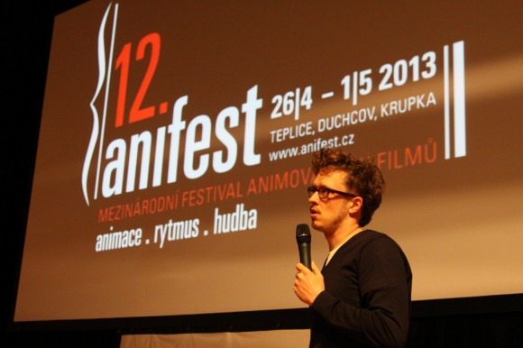 Max Hattler, German video artist, guest of this year's Anifest