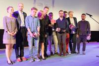 Krakow FF Polish Competition Prize Winners and Jury headed by Dariusz Jablonski
