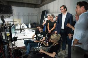 PRODUCTION: Alexandre Aja Shoots Paramount  Pictures Production Crawl in Serbia