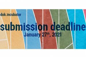 dok.incubator submission deadline - meet us January 7th