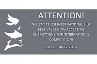 Tblisi IFF: Call for Entries