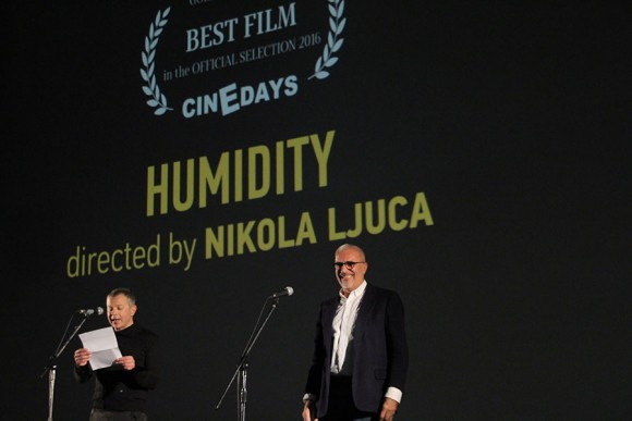 Cinedays Jury announcing the winner
