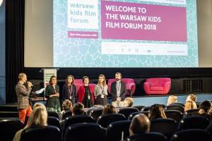 Warsaw as a meeting place for the European film industry related to children's and family cinema. Over 200 guests from 25 countries around the world - the Warsaw Kids Film Forum in numbers