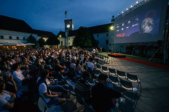Ljubljana Castle open-air cinema