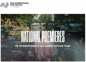 The Riga International Film Festival will feature national premieres of internationally acclaimed Latvian films