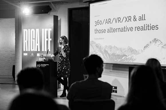 FNE at Riga IFF 2019: Riga IFF Goes VR