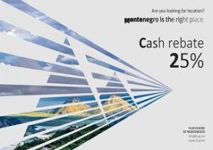 Montenegro launches 25% cash rebate scheme