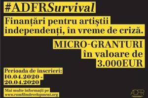 ADFR Launches Micro-Grants for Romanian Independent Artists