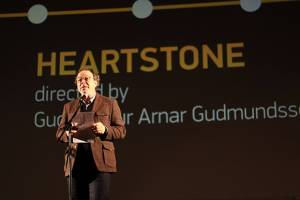 Cinedays ceremony - Award for Heartstone